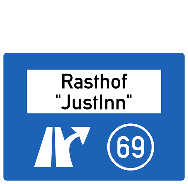Verkehrszeichen 448.1