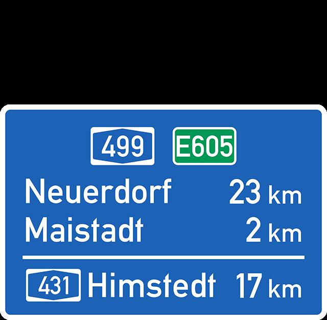 Verkehrszeichen 453