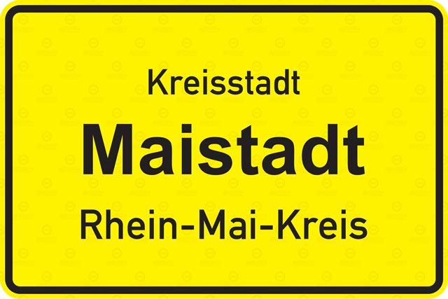 Funkspiel Maistadt - Ortstafel - Ziegelwerk