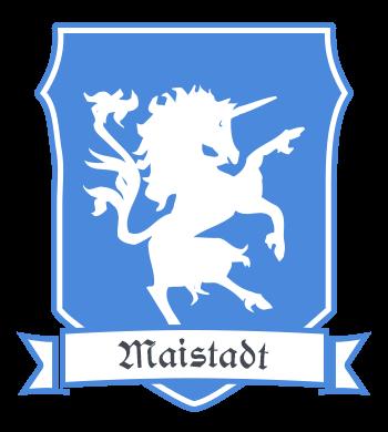 Stadt Maistadt - Stadtwappen