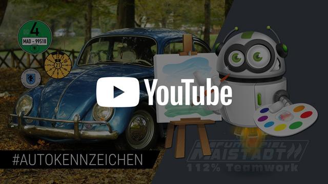 Autokennzeichen und Fahrzeugbilder. Funkspiel Maistadt auf YouTube
